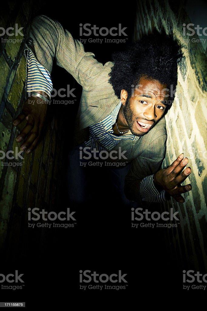 claustrophobia stock photo