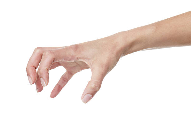 Claw Female hand making a claw gesture claw stock pictures, royalty-free photos & images