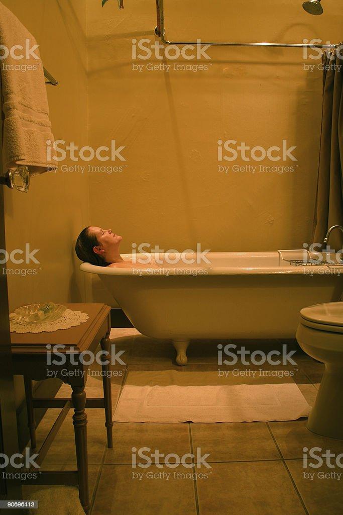 Clawfoot Tub royalty-free stock photo