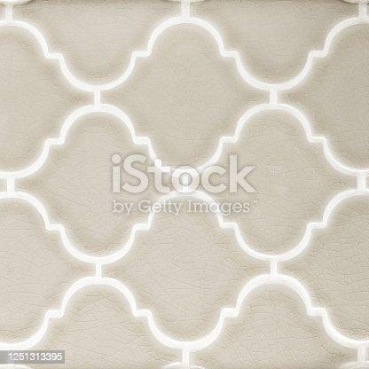 Clay arabesque porcelain mosaic tile texture