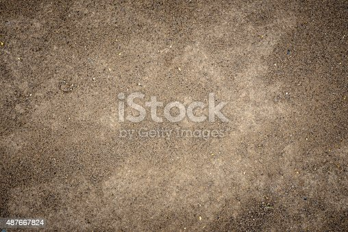 Clay for background texture.