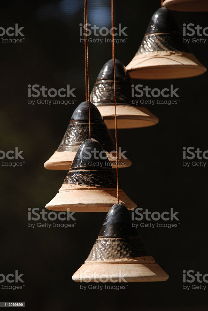 Clay Bells Ring! stock photo