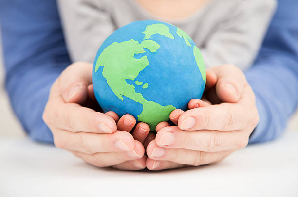 clay earth - environmental consciousness stock pictures, royalty-free photos & images