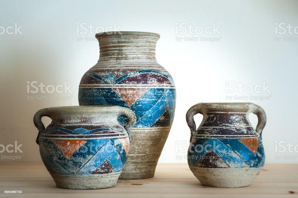 Pots d'argile - Photo