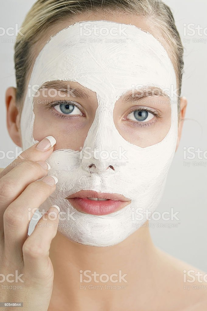 Clay Mask royalty-free stock photo