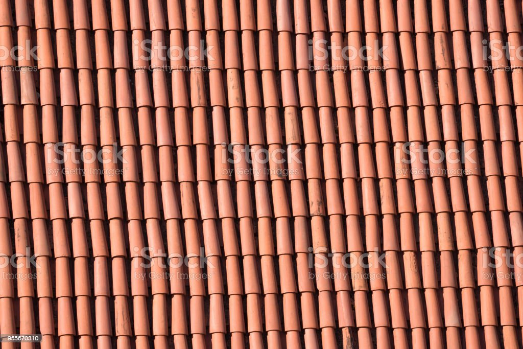 Clay Roof Tiles Stock Photo Download Image Now Istock