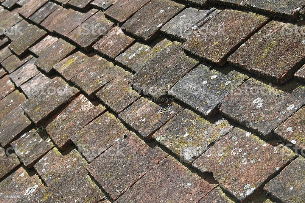 Clay tiles royalty-free stock photo