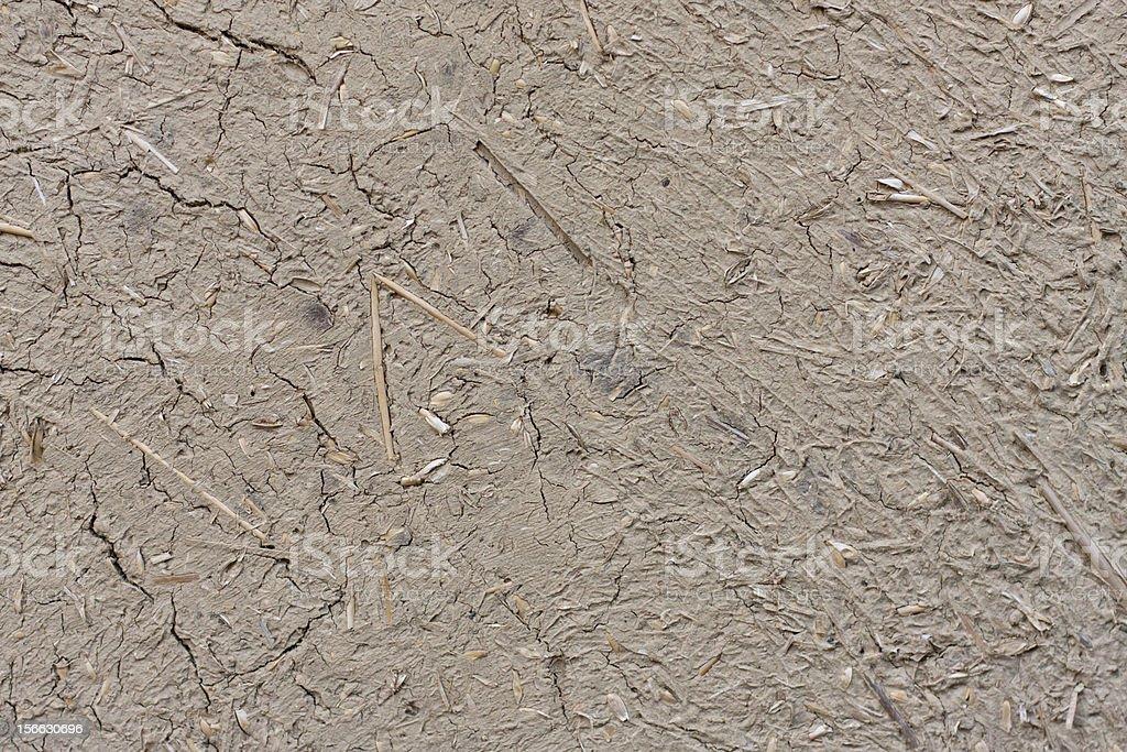 clay wall royalty-free stock photo