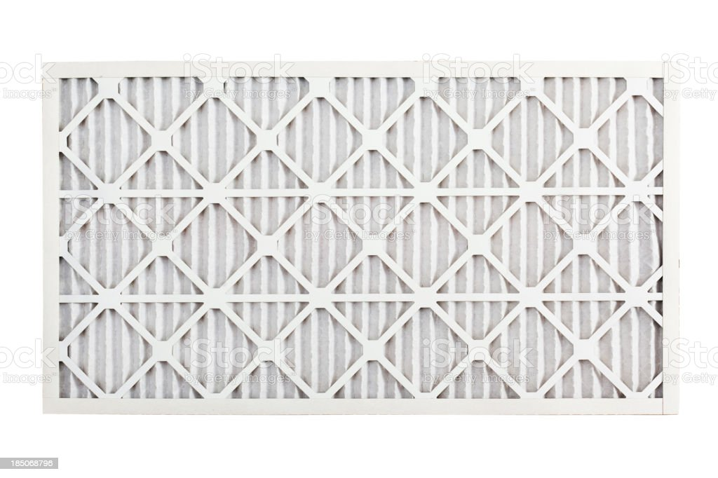 Clean Air Conditioner Filter royalty-free stock photo