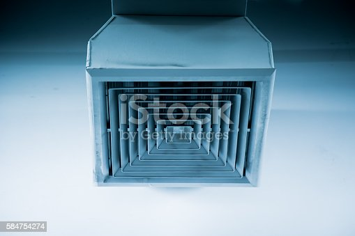 1132163701istockphoto Clean Air Duct , Danger and cause of pneumonia in office. 584754274