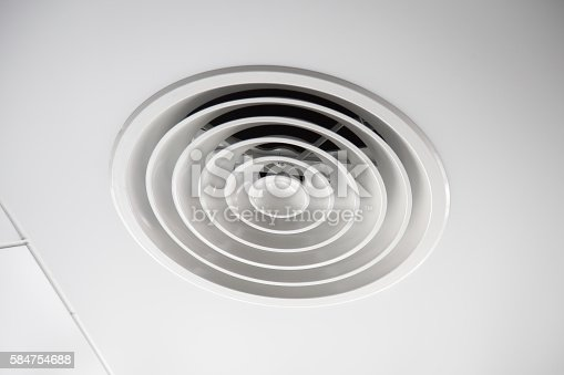 1132163701istockphoto Clean Air Duct , Danger and cause of pneumonia in office. 584754688