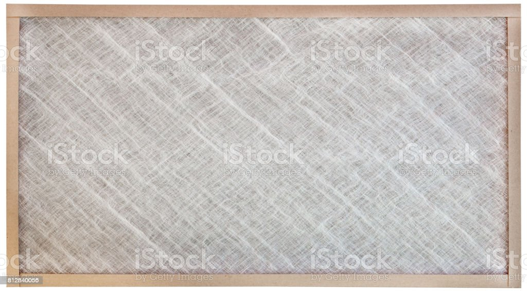 Clean Air Filter with path stock photo