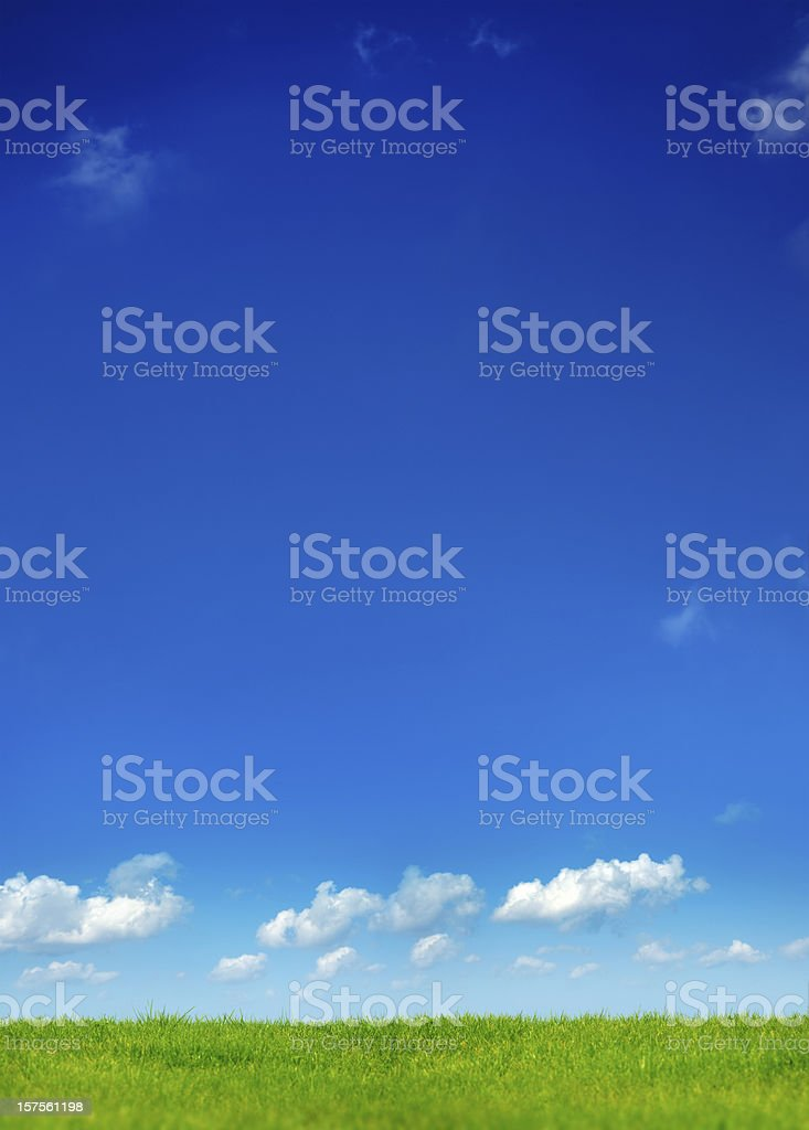 clean air landscape royalty-free stock photo