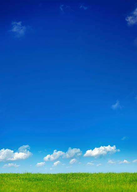 clean air landscape stock photo