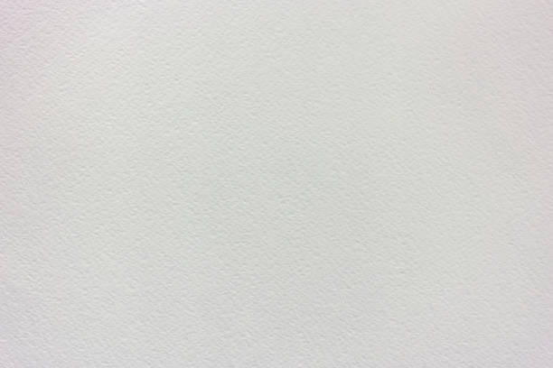 reinigen sie und leeren sie weißen pastell oder aquarell papierhintergrund - rauhfaser stock-fotos und bilder