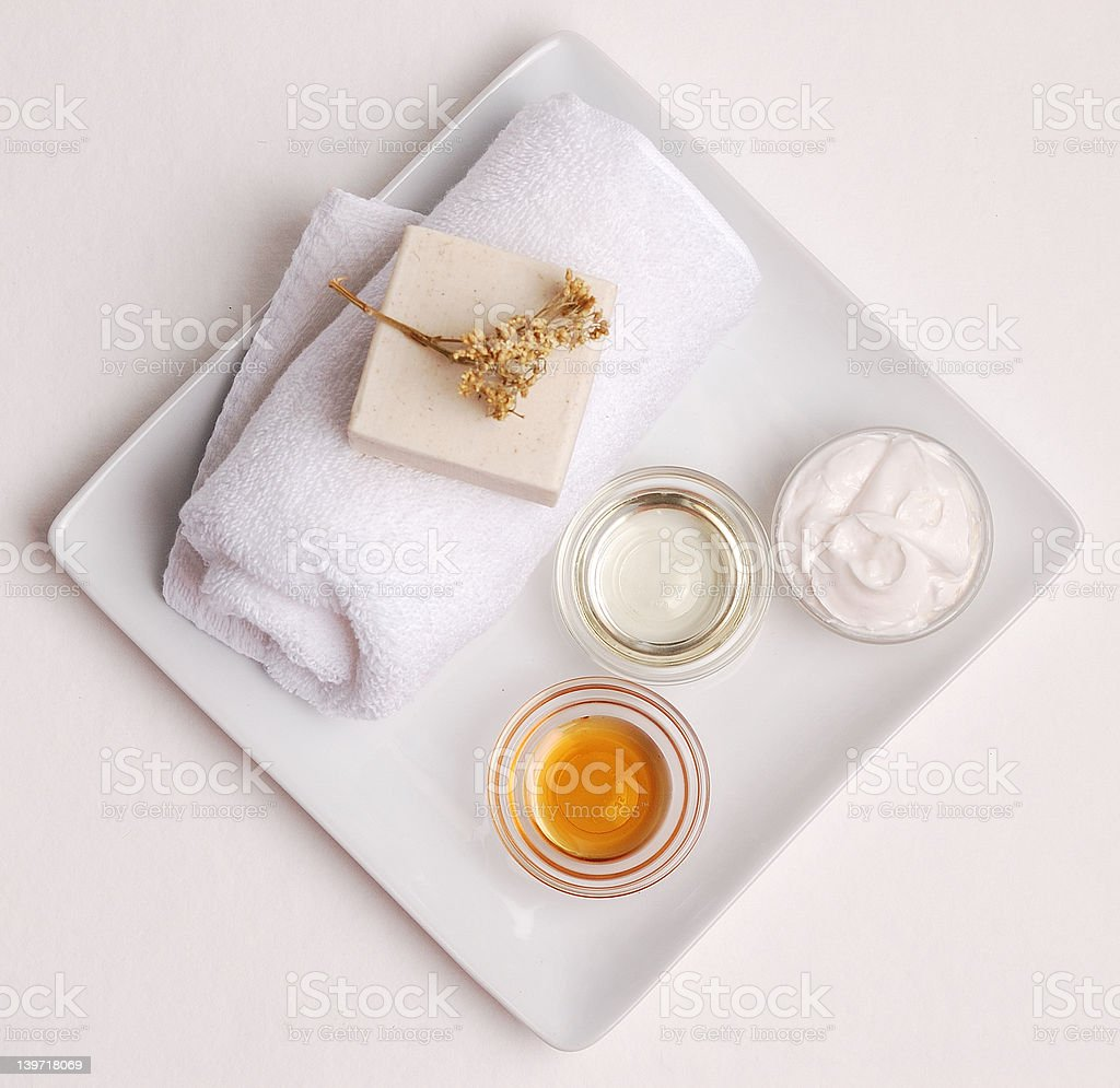 Clean and Natural Spa royalty-free stock photo