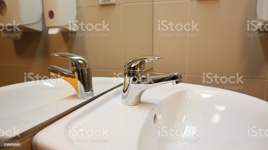 Clean Bathroom Faucet stock photo 506905656 | iStock
