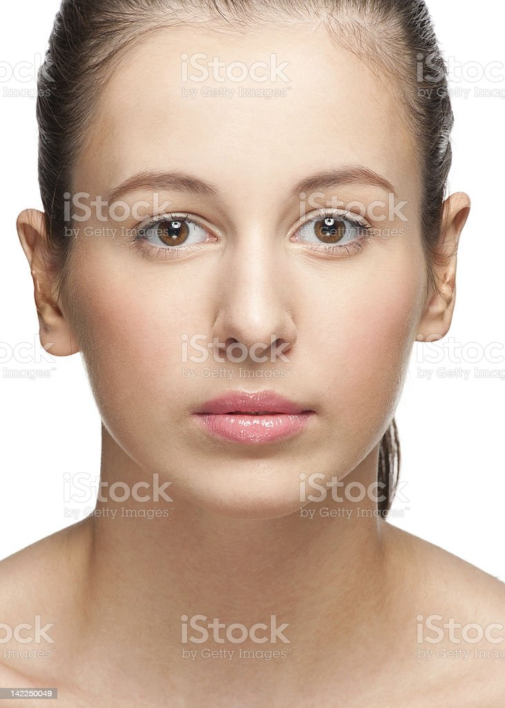 Clean Beauty royalty-free stock photo
