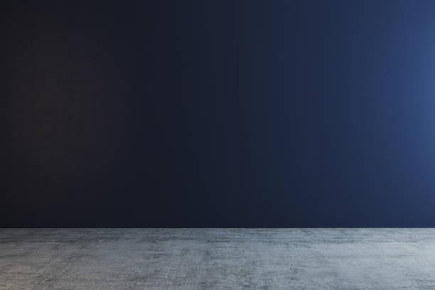 Saubere blaue Wand – Foto