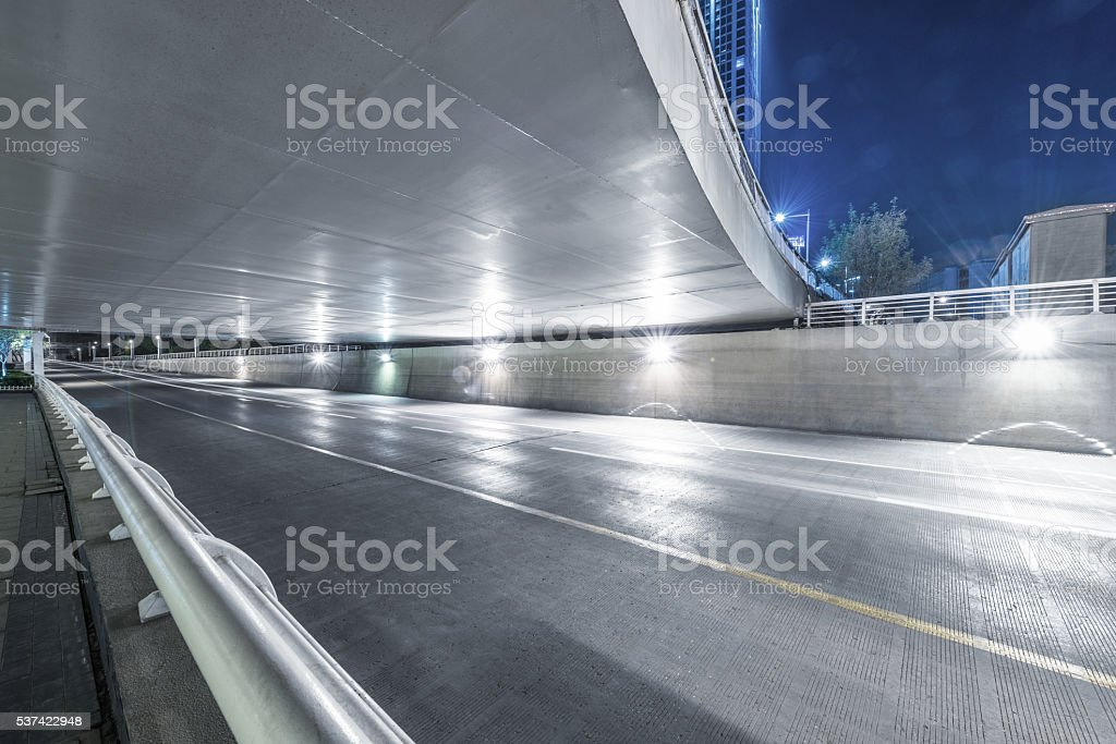 clean city road,tianjin stock photo