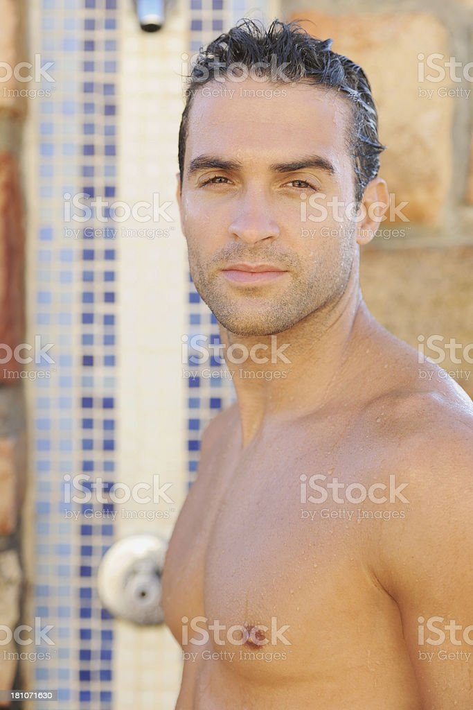 Clean, cleansed and clean-cut royalty-free stock photo