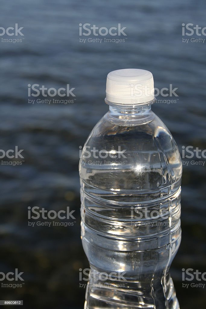Clean Clear Water stock photo