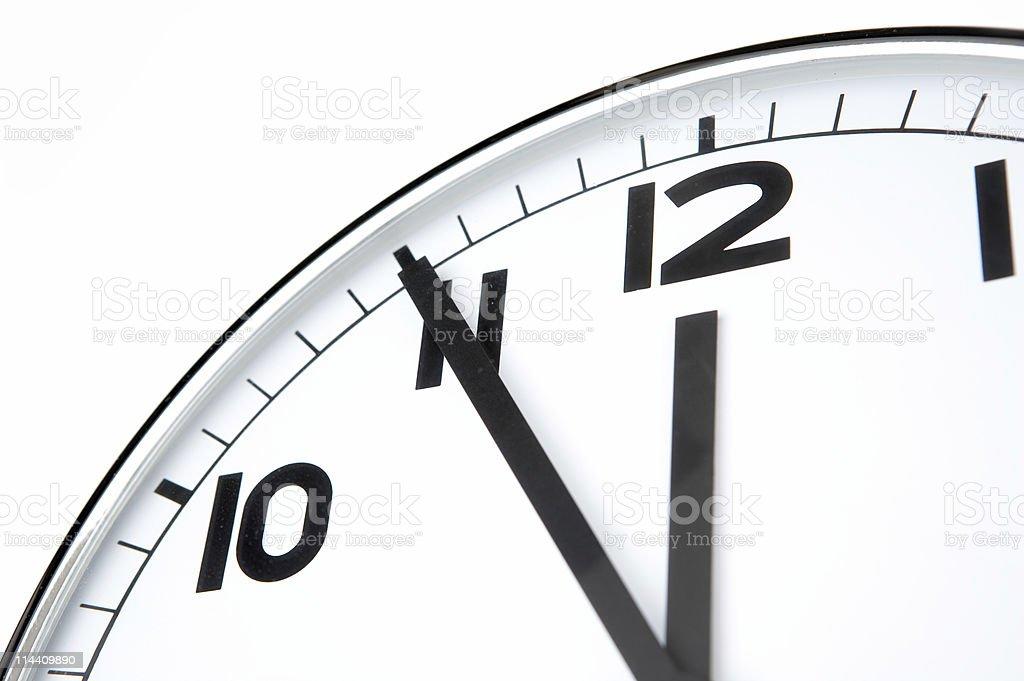 Clean clock stock photo