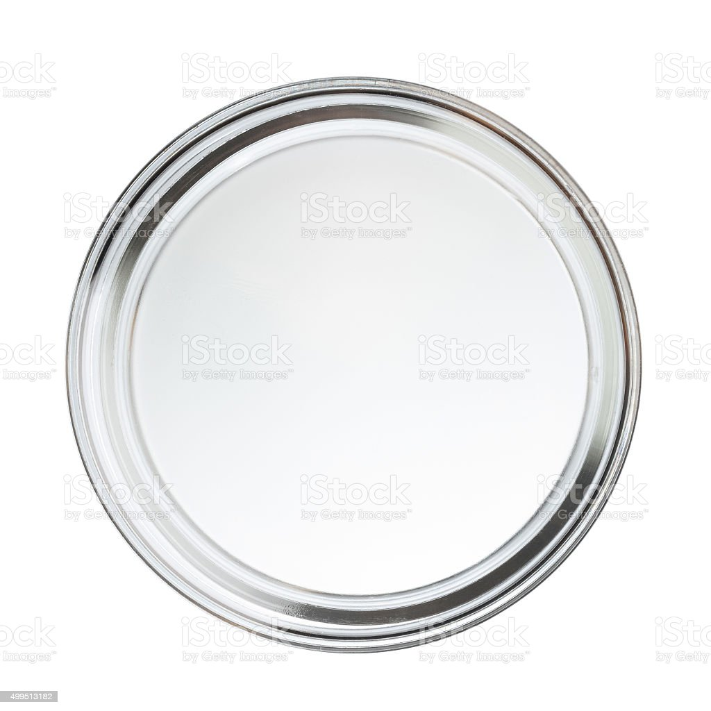 Clean closed empty perti dish stock photo