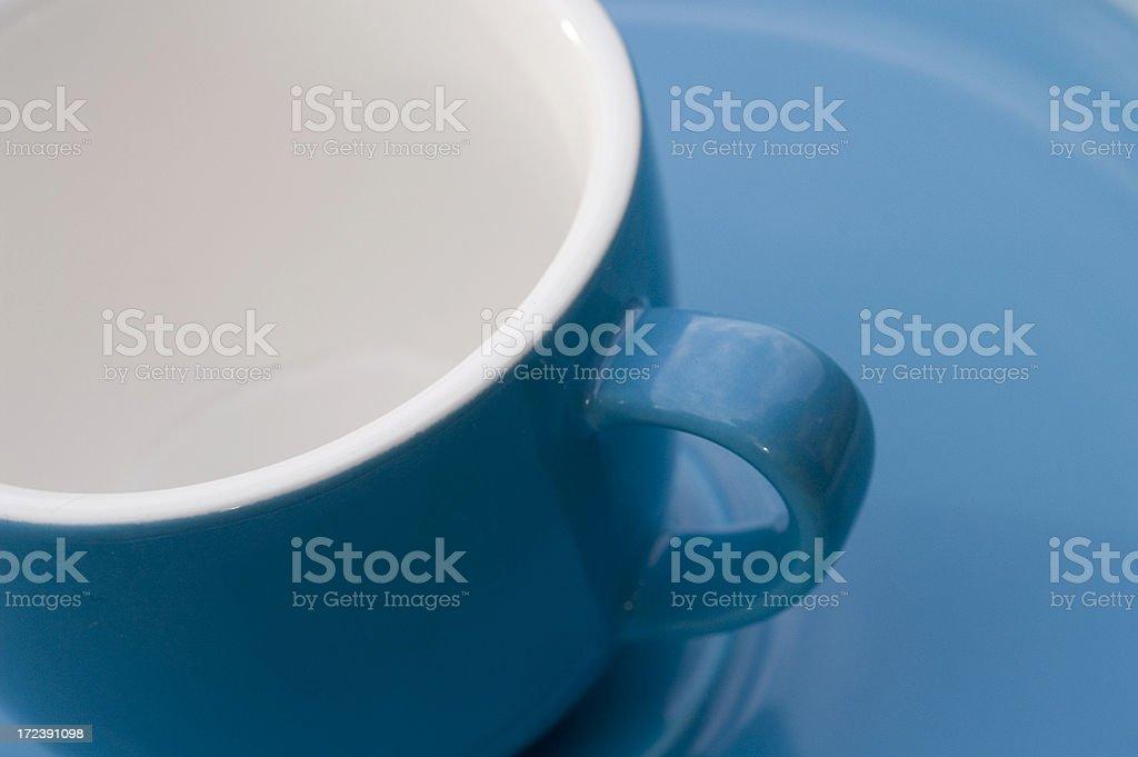 Clean coffee cup royalty-free stock photo