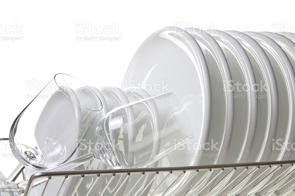 Clean dishes foto