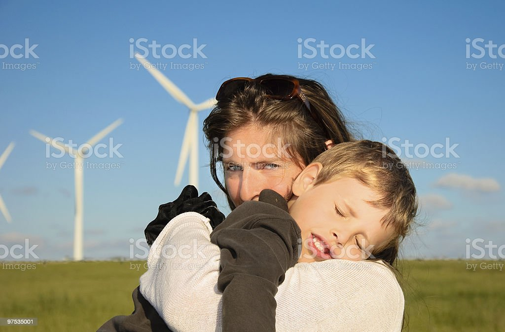 Clean energy 2 royalty-free stock photo