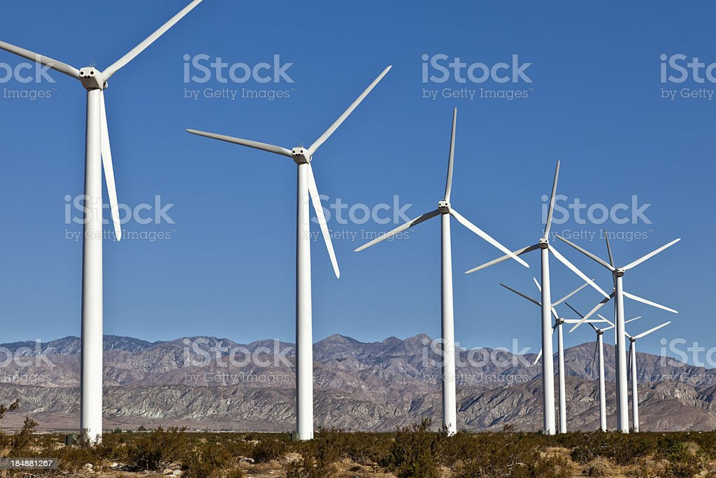 Clean Energy royalty-free stock photo