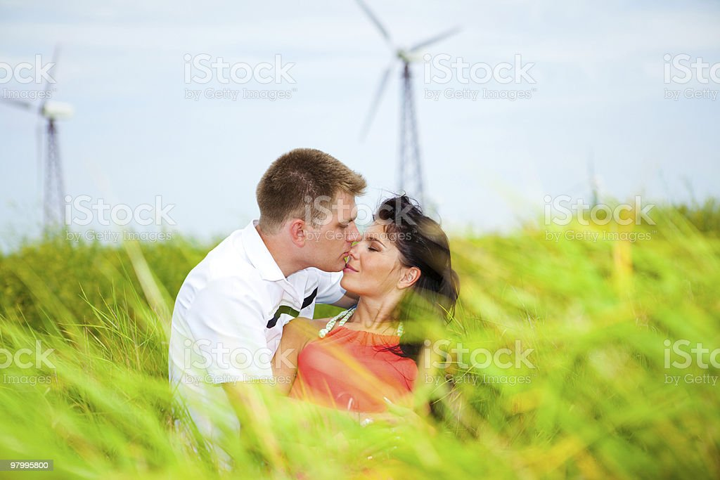 Clean energy royalty free stockfoto