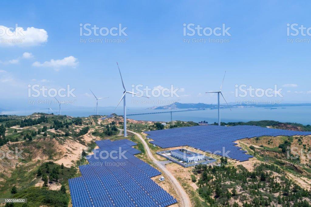 saubere Energie-Kraftwerk am Poyang See – Foto