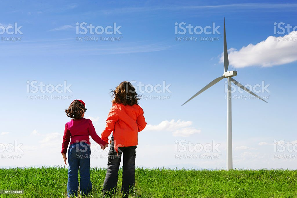 Clean future royalty-free stock photo