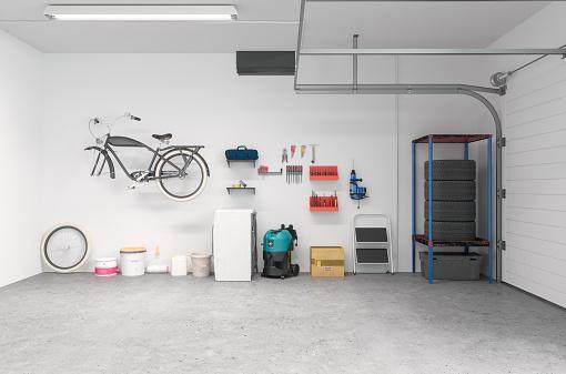 Clean Garage Interior