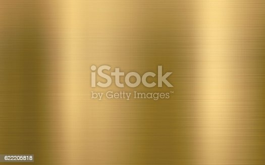 Clean gold metal texture background illustration