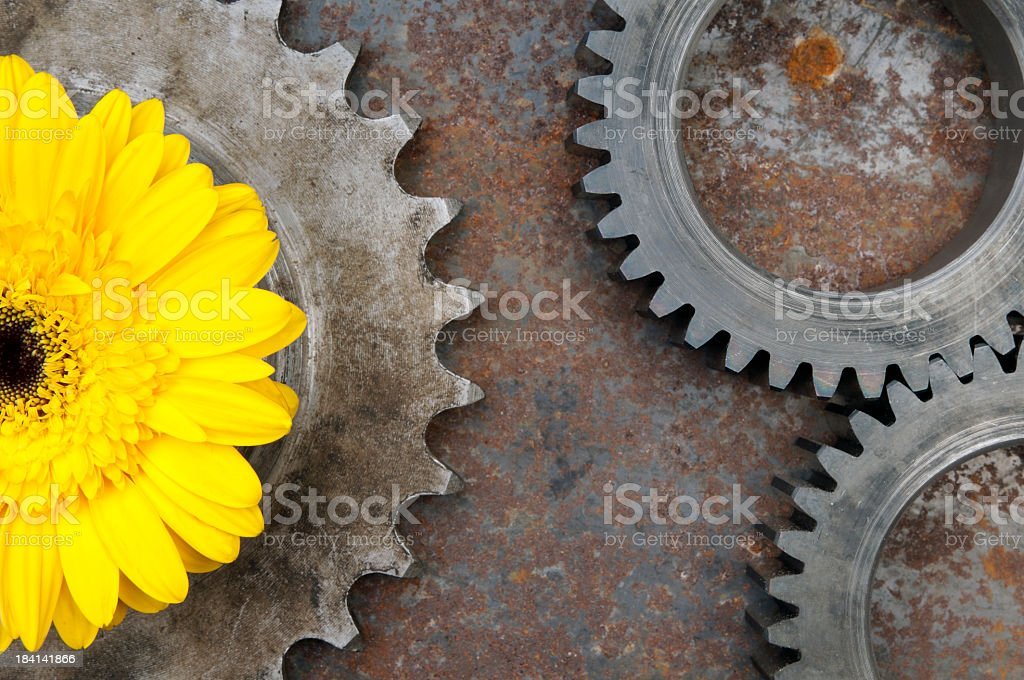 Clean Industry royalty-free stock photo