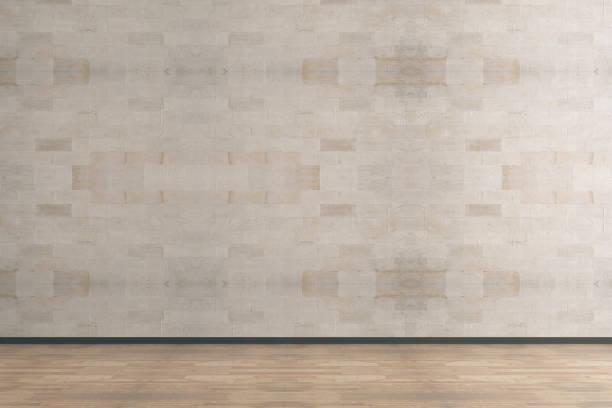 Sauberen Innenraum mit leeren Wand – Foto