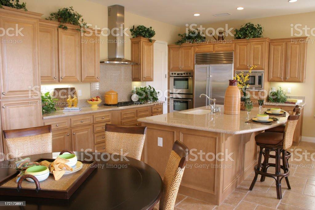 Clean kitchen royalty-free stock photo