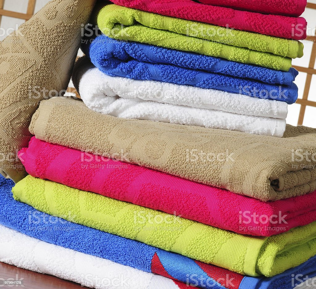 Clean laundry. royalty-free stock photo