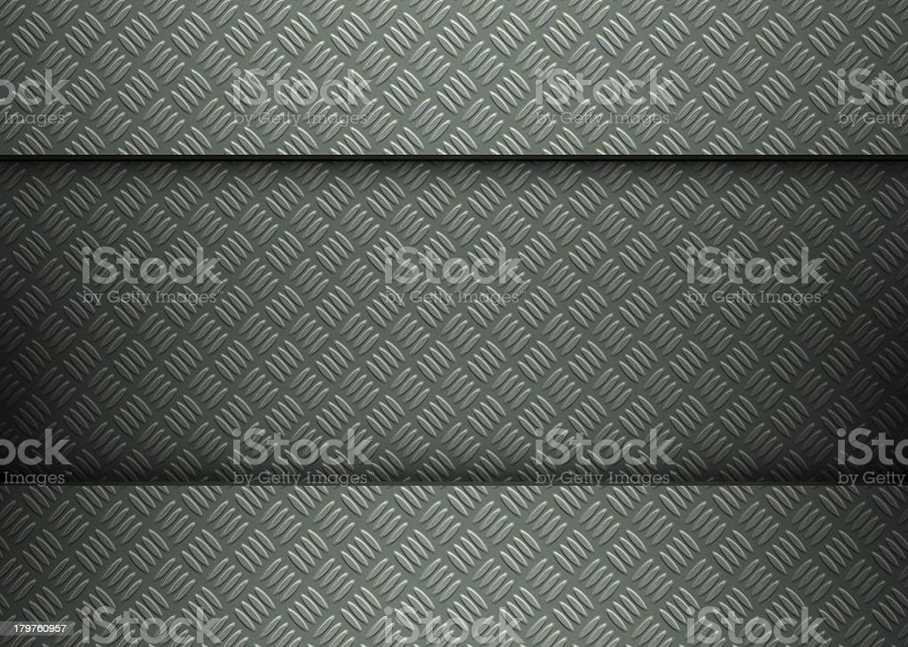 Clean metal template background royalty-free stock photo