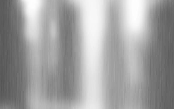 Clean metal texture background illustration stock photo