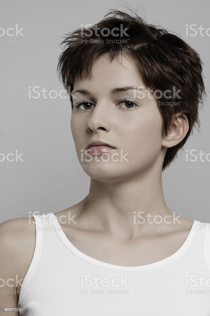 clean model face royalty-free stock photo
