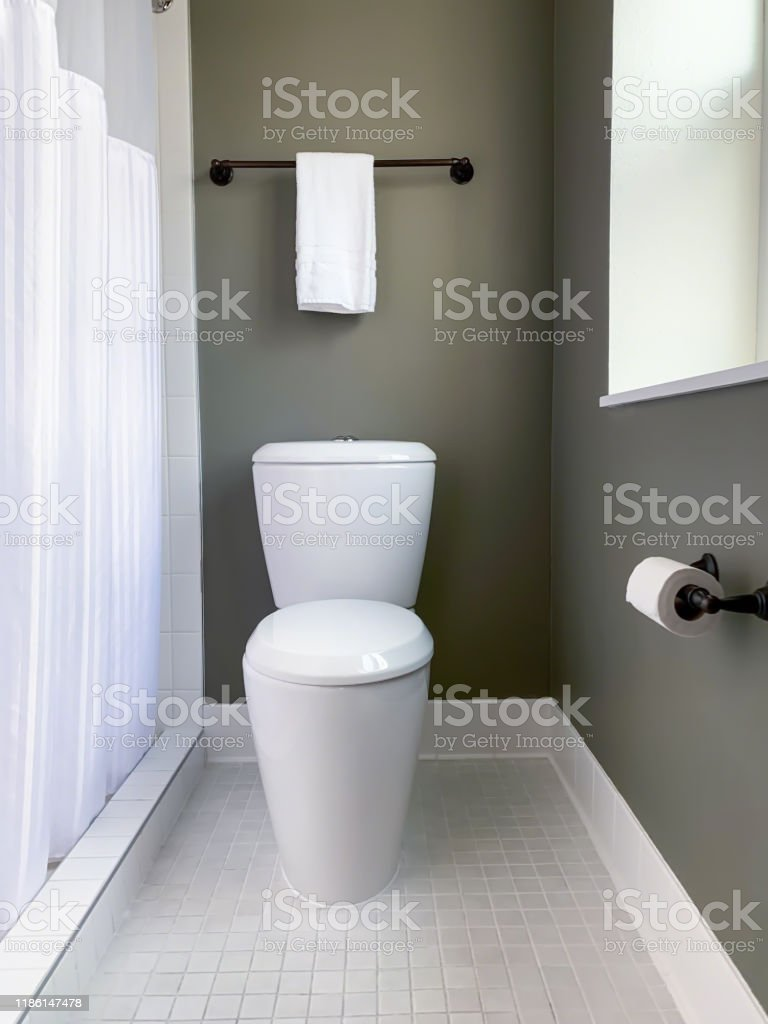 Clean Modern Design For Small Bathroom Stock Photo Download Image Now Istock