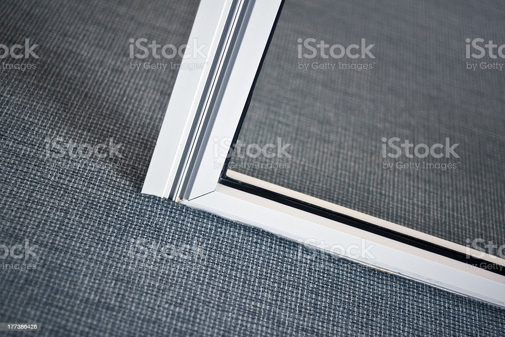 Clean office Clean office floor with doors Appliance Stock Photo