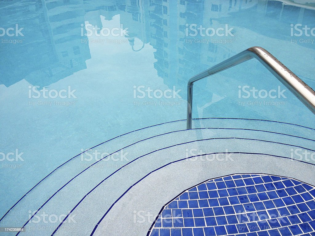 Clean Outdoors Pool stock photo
