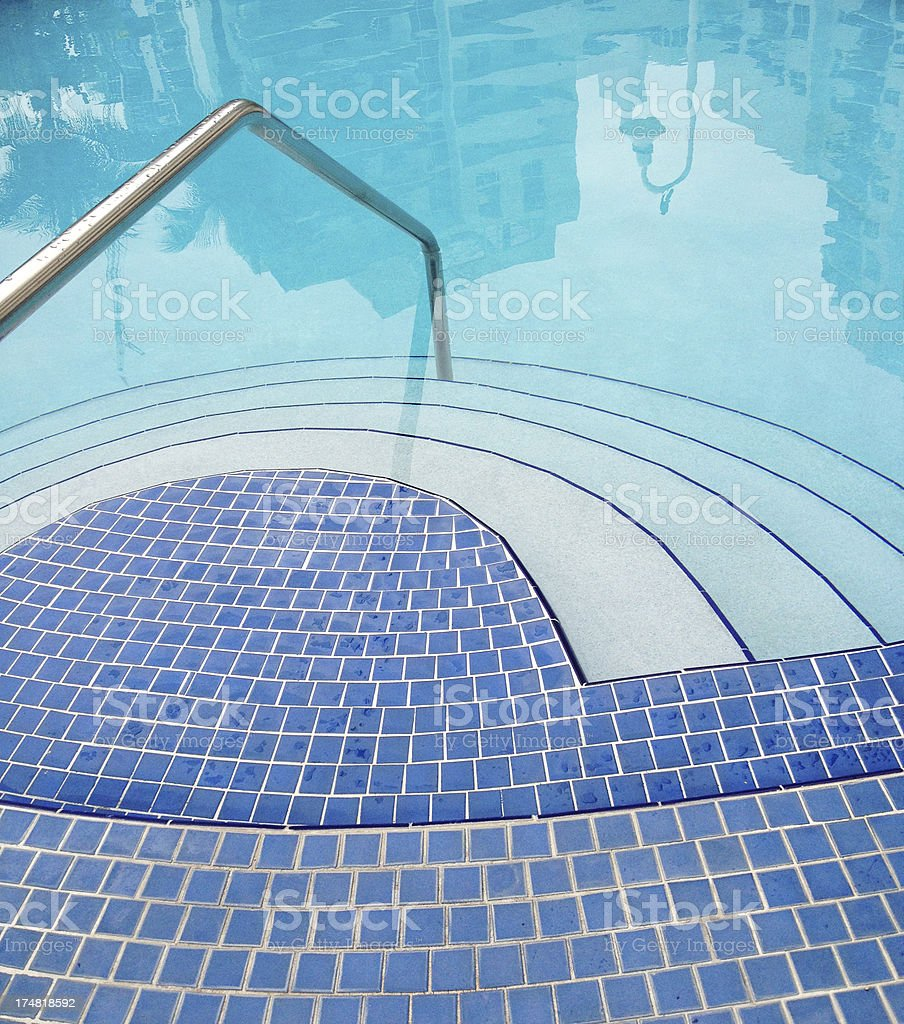 Clean Outdoors Pool royalty-free stock photo