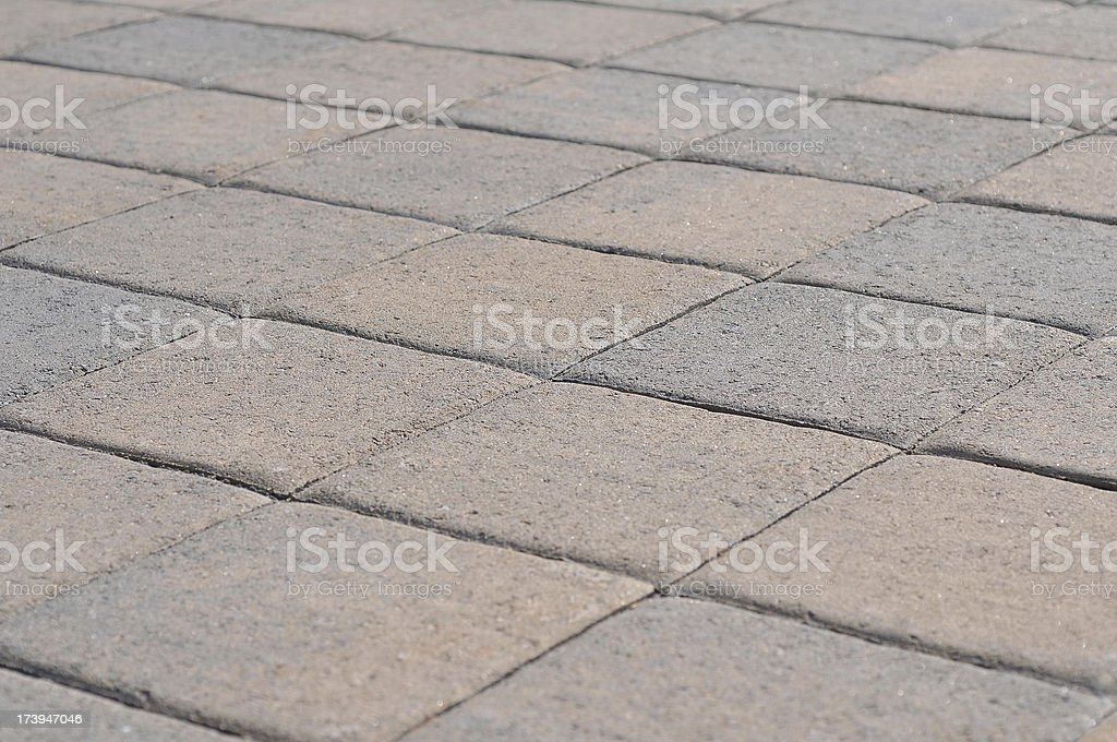 Clean Pavers royalty-free stock photo