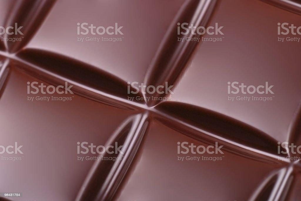 Pulire foto di cioccolato scuro bar foto stock royalty-free